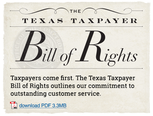 Texas Bill of Rights