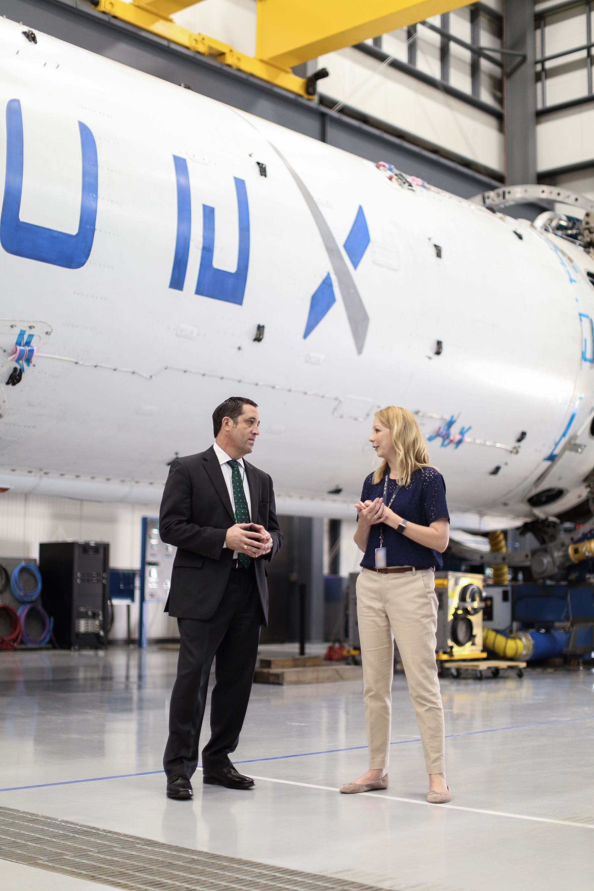 On October 5, 2017, Texas Comptroller Glenn Hegar visited Space-X in McGregor, Texas.