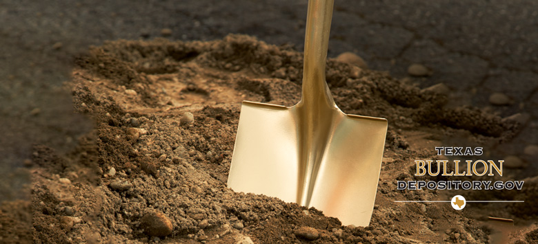 Texas Bullion Depository Ground-breaking