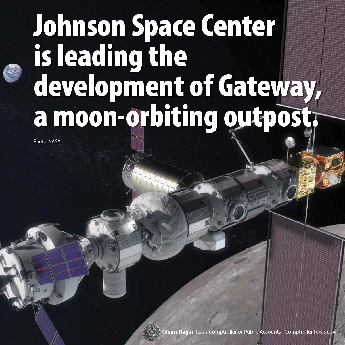 Johnson Space Center Future Gateway Facebook Infographic