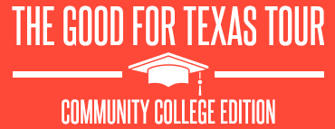 The Good For Texas Tour, Community College Edition