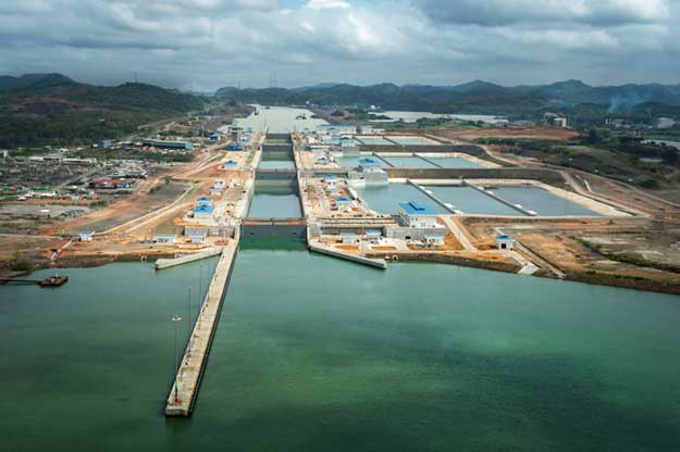 Go to the Panama Canal article