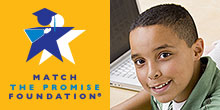 Match the Promise logo and pic of Ruben